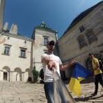 Замок Олесько внутри