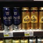 Франция. Серр Шевалье. Цены на пиво
